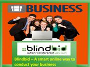 Get the best business services by Blindbid at affordable prices