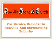 Car Service Provider in Rowville