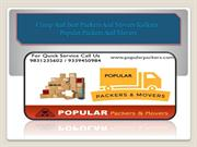 Cheap And Best Packers And Movers Kolkata : Popular Packers And Movers