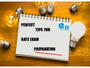 Perfect Tips For GATE Exam Preparation - Eii