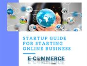 startup guide for starting online business
