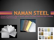 Designer stainless steel sheet catalog for Lift from Naman Steel