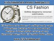 Cs-fashion.net - Best Quality Timepieces For All