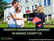 Property Management Company in Orange County CA