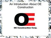OE Construction Building Relationships to Succeed