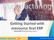 Getting Started with Xcel Job Production ERP - ERP for Manufacturing