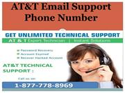 Call 24 * 7 Anytime 18%77%778%8969  AT&T Email Support Phone Number