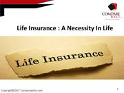 Why life insurance is necessary in life