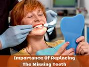 The Five Importance of Replacing a Missing Tooth - Pro Dental Centers