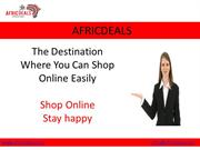 Online shopping in Nigeria | Africdeals Nigeria