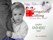 Father's day Gifts to Bangalore