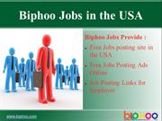 Part Time and Full Time Jobs in the USA