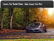 Luxury Car Rental Milan