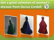 Get plus size custom wedding dresses from Darius Cordell
