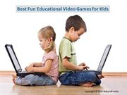 Top Fun Video Games That Are Actually Educational for Children