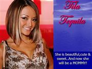 Tila Tequila is pregnangt.