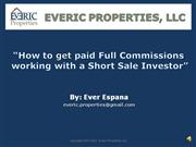 How to get paid a Full Commission Intro 2010