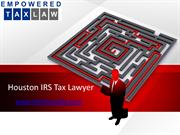 Galveston IRS Tax Lawyer