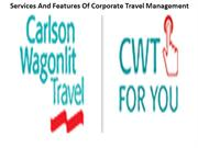 Services And Features Of Corporate Travel Management