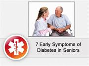 7 Early Symptoms of Diabetes in Seniors