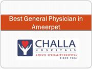 Top General Physician Doctor in Ameerpet Hyderabad
