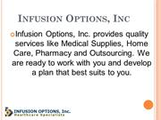 Infusion Options, Inc