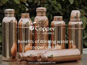 Benefits of drinking water In ||Copper water Bottles|| copper Utensils