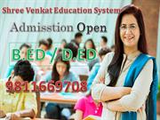 Apply B.Ed | D.ED in Admission