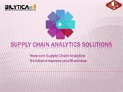 Supply Chain Analytics Solutions: A best practice for your business