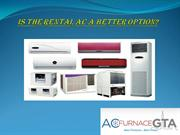 Air Conditioner Rental-Better Option or Not?
