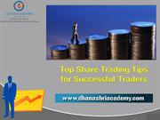 Top Share Trading Tips for Success by Dhanashri Academy