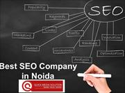 Best SEO Companies in Noida   http://www.quickmediasolution.com