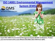 ISO 14001 Environmental Management System & EMS Certification Experts