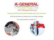 A-General   Commercial & Residential Plumbing & Sewer Services