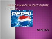 PEPSICO CHANGCHUN JOINT VENTURE