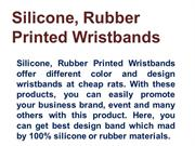 Printed Wristbands Manufacturers Suppliers and Manufacturers In India