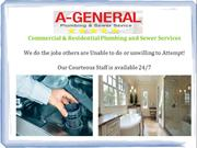 A-General: Residential | Commercial Plumbing and Sewer Services