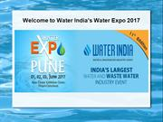 Welcome to Water India's Water Expo 2017