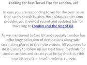Looking for Best Travel Tips for London, uk