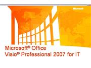 Visio 2007 IT Professionals Detailed Presentation