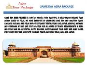 Same Day Agra Tour with Fatehpur Sikri by Travel Park Holidays