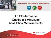 Intro to QAM Measurements