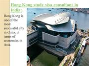 Hong Kong study visa consultant in India