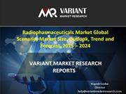 Radiopharmaceuticals Market  Trend and Forecast, 2015 – 2024