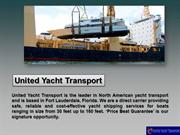 United Yacht Transport Offers