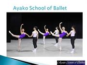 Best Belmont Dance School - Ayako School of Ballet