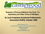 Castlewood - Eating Disorder Residential