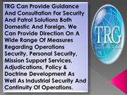 Infrastructure Protection in USA - TRG