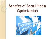 Benefits of Social Media Optimization – Sam Brettell