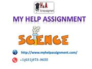 Science homework & Assignment Help